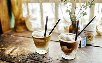 La recette du café glacé à la noix de coco